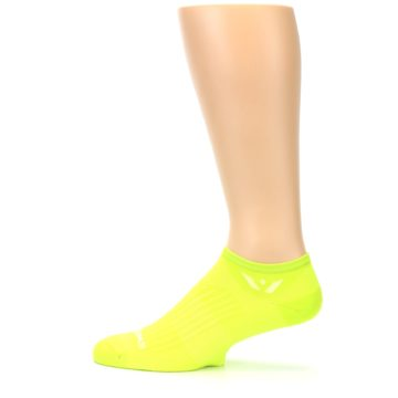 Image of Neon Solid Zero Men's No-Show Athletic Socks (side-2-12)