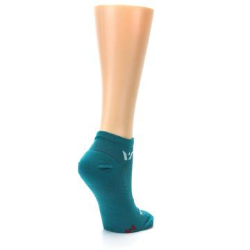 Image of Aqua Solid Aspire Zero Women's No-Show Athletic Socks (side-1-back-22)
