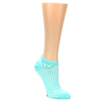 MEDIUM-Mint-Solid-Aspire-Zero-Womens-No-Show-Athletic-Socks-Swiftwick