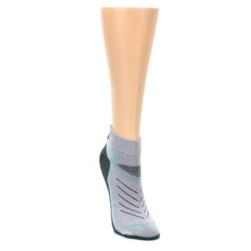 Image of Gray Mint Vibe Women's Ankle Athletic Socks (side-1-front-03)