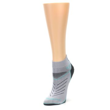 Image of Gray Mint Vibe Women's Ankle Athletic Socks (side-2-front-08)