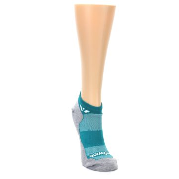 Image of Gray Aqua Maxus Women's No-Show Athletic Socks (side-1-front-03)