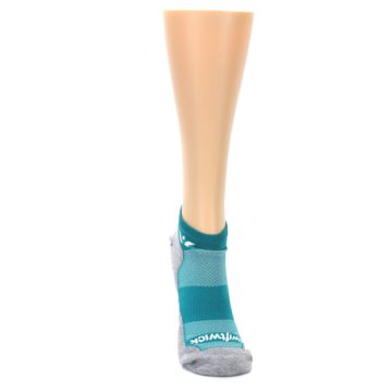 Image of Gray Aqua Maxus Women's No-Show Athletic Socks (front-04)