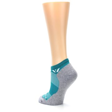Image of Gray Aqua Maxus Women's No-Show Athletic Socks (side-2-back-15)