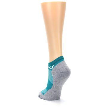 Image of Gray Aqua Maxus Women's No-Show Athletic Socks (side-2-back-16)
