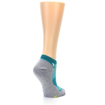 Image of Gray Aqua Maxus Women's No-Show Athletic Socks (side-1-back-22)