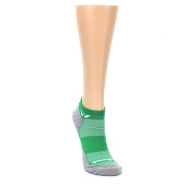 Image of Gray Green Maxus Women's No-Show Athletic Socks (side-1-front-03)