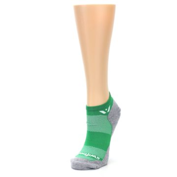 Image of Gray Green Maxus Women's No-Show Athletic Socks (side-2-front-08)