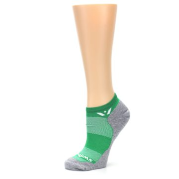 Image of Gray Green Maxus Women's No-Show Athletic Socks (side-2-10)
