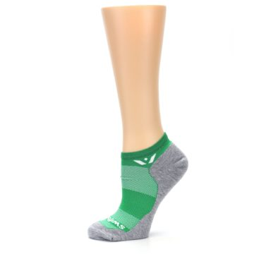 Image of Gray Green Maxus Women's No-Show Athletic Socks (side-2-11)