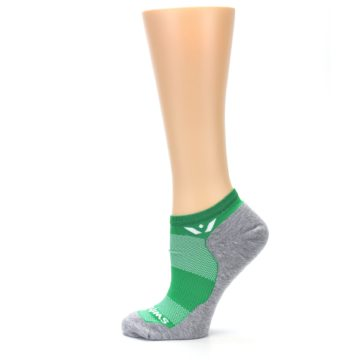 Image of Gray Green Maxus Women's No-Show Athletic Socks (side-2-12)