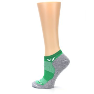 Image of Gray Green Maxus Women's No-Show Athletic Socks (side-2-13)