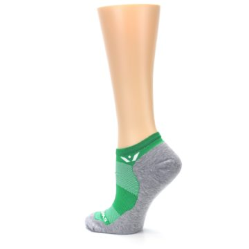 Image of Gray Green Maxus Women's No-Show Athletic Socks (side-2-back-14)