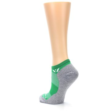 Image of Gray Green Maxus Women's No-Show Athletic Socks (side-2-back-15)