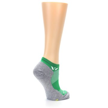 Image of Gray Green Maxus Women's No-Show Athletic Socks (side-1-23)