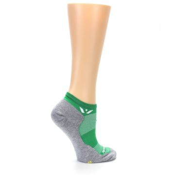 Image of Gray Green Maxus Women's No-Show Athletic Socks (side-1-24)