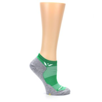 Image of Gray Green Maxus Women's No-Show Athletic Socks (side-1-25)