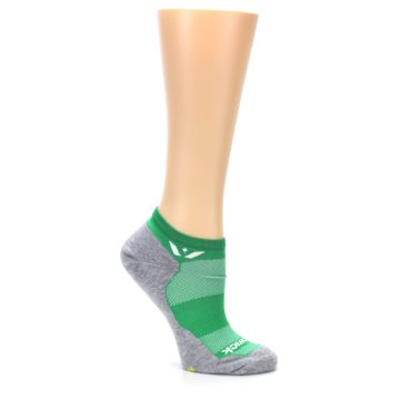Image of Gray Green Maxus Women's No-Show Athletic Socks (side-1-26)