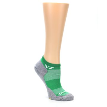 Image of Gray Green Maxus Women's No-Show Athletic Socks (side-1-27)