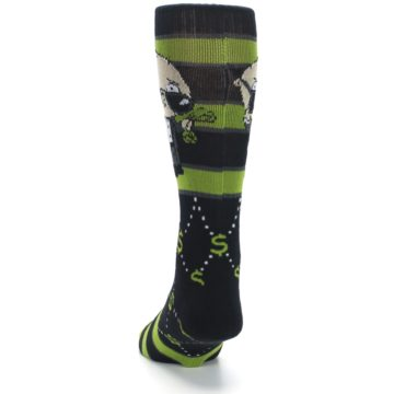 Image of Green Family Guy Stewie Rich Men's Casual Socks (back-17)