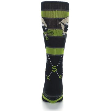 Image of Green Family Guy Stewie Rich Men's Casual Socks (back-18)