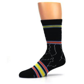 Image of Black Back to the Future Movie Men's Casual Socks (side-2-10)
