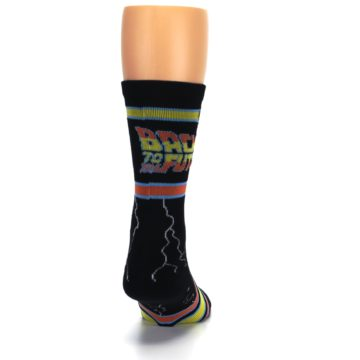 Image of Black Back to the Future Movie Men's Casual Socks (back-19)