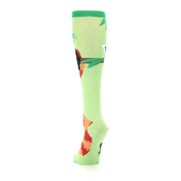 Image of Green Red Panda Women's Knee High Sock (back-17)