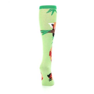 Image of Green Red Panda Women's Knee High Sock (side-1-back-20)