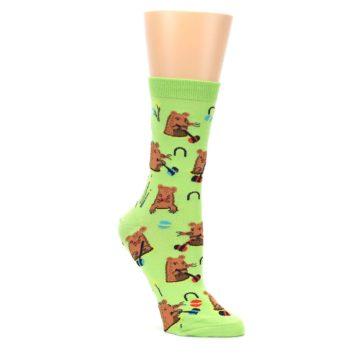 Green-Whack-a-Mole-Womens-Dress-Sock-Sock-It-To-Me