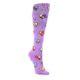 Purple-Handshake-Hearts-Womens-Knee-High-Sock-Sock-It-To-Me