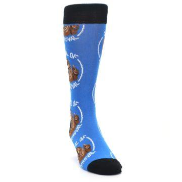 Image of Blue Seal of Approval Men's Dress Socks (side-1-front-03)