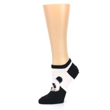 Image of Black White Panda Women's Ankle Socks (side-2-10)