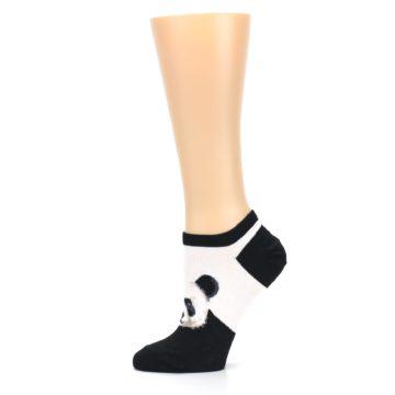 Image of Black White Panda Women's Ankle Socks (side-2-11)