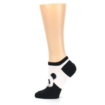 Image of Black White Panda Women's Ankle Socks (side-2-12)