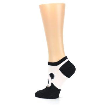 Image of Black White Panda Women's Ankle Socks (side-2-13)