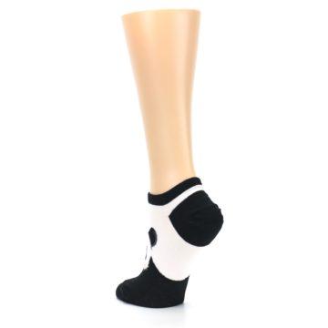 Image of Black White Panda Women's Ankle Socks (side-2-back-15)