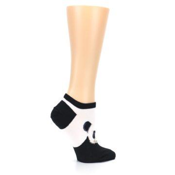 Image of Black White Panda Women's Ankle Socks (side-1-24)