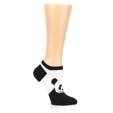 Image of Black White Panda Women's Ankle Socks (side-1-25)