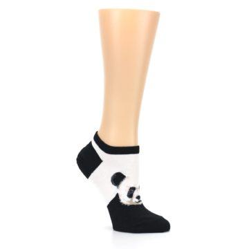 Image of Black White Panda Women's Ankle Socks (side-1-26)