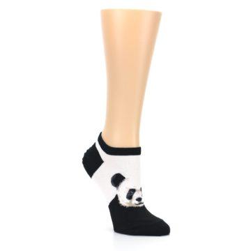 Image of Black White Panda Women's Ankle Socks (side-1-27)