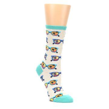 Heather-Ivory-Sunglasses-Womens-Dress-Socks-Socksmith