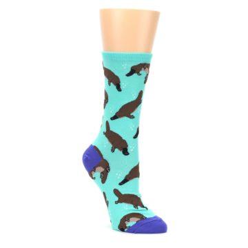 Mint-Platypus-Womens-Dress-Socks-Socksmith