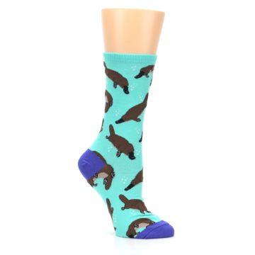 Image of Mint Platypus Women's Dress Socks (side-1-26)