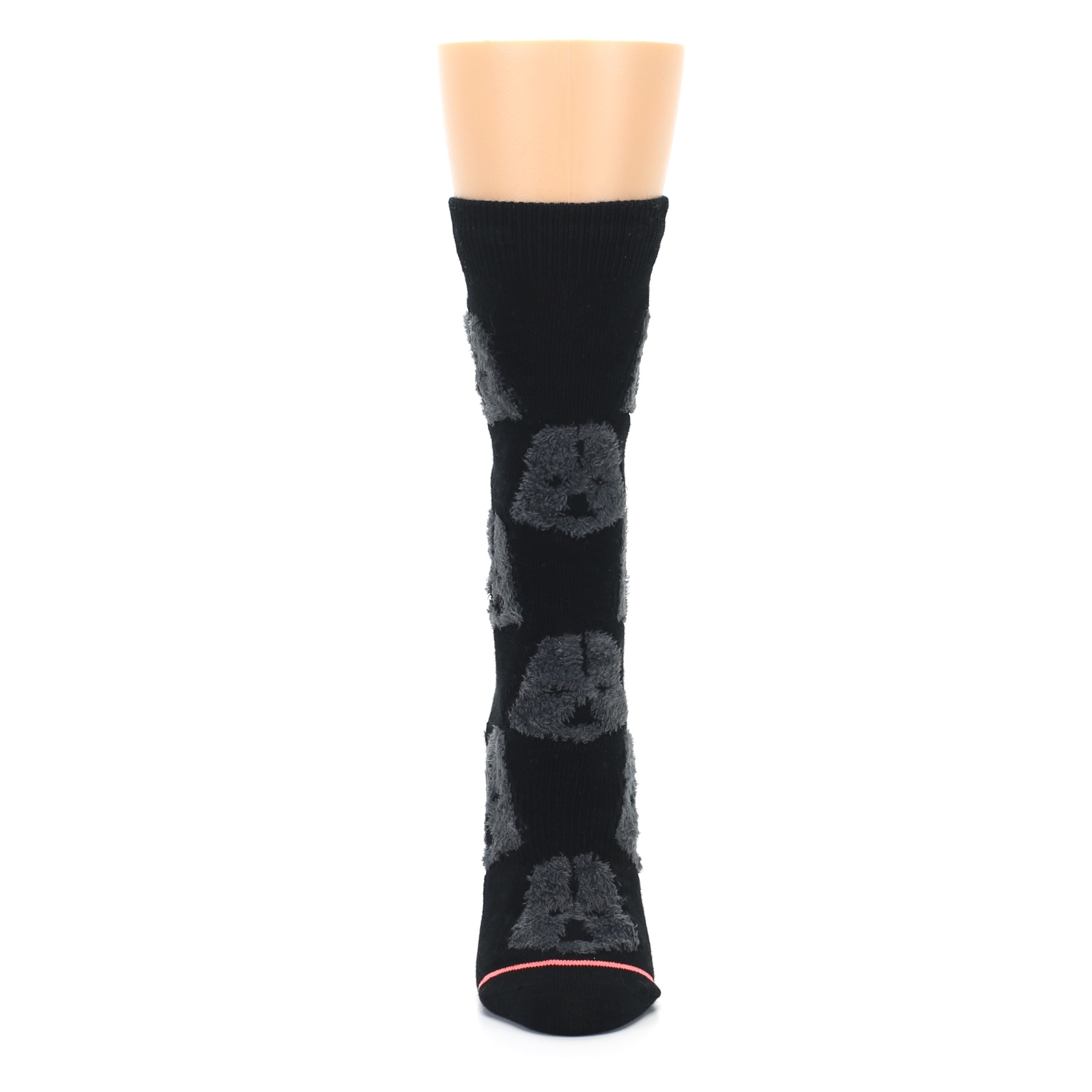 c8a65c0e8 Image of Black Cozy Darth Vader Star Wars Women s Casual Socks (front-05)