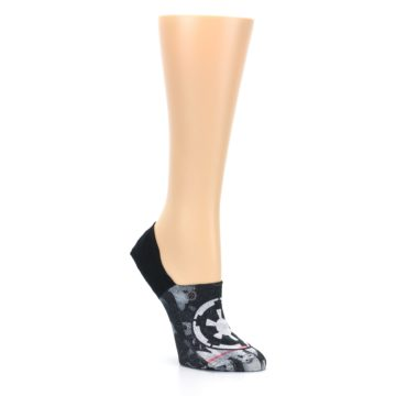 Image of Black Empire Sky Star Wars Women's No Show Liner Socks (side-1-27)