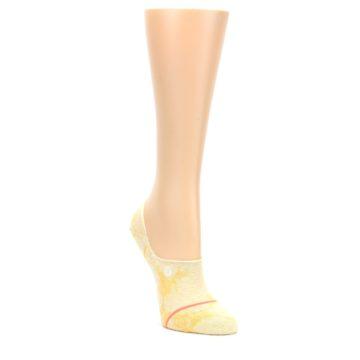 Yellow-Tie-Dye-Womens-No-Show-Liner-Socks-STANCE