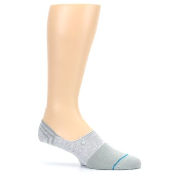 Image of Gray Gamut Men's No Show Liner Socks (side-1-25)