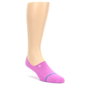 LARGE-Pink-Gamut-Mens-No-Show-Liner-Socks-STANCE