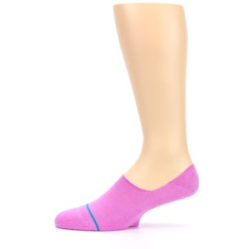 Image of Pink Gamut Men's No Show Liner Socks (side-2-11)